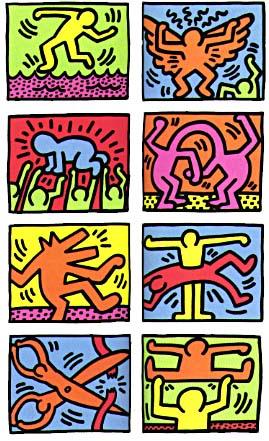 �Keith Haring�